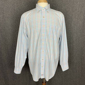 Vineyard Vines Murray Shirt L Mullti-Color Plaid